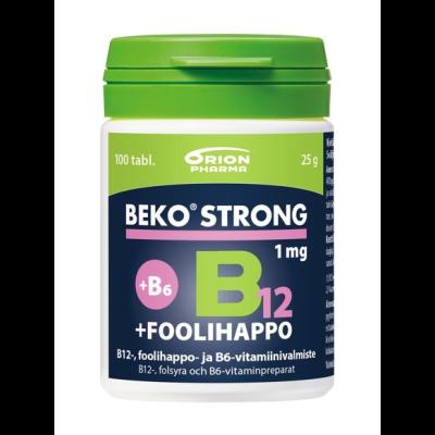 Beko Strong B12 + foolihappo 100 tabl