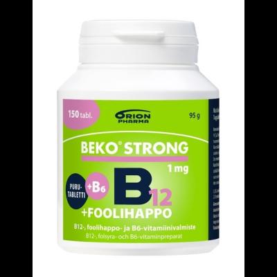 BEKO STRONG B12+FOOLIHAPPO+B6 150 purutabl