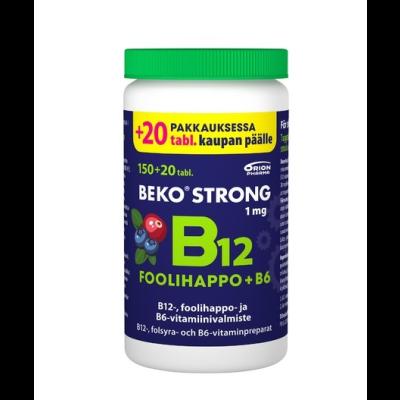 BEKO STRONG B12+FOOLIHAPPO+B6 170 purutabl