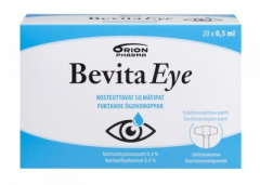 BEVITA EYE SILMÄTIPPA 0,4% PIPETTI 20X0,5ML