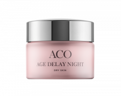 ACO FACE AGE DELAY NIGHT CREAM DRY SKIN 50 ML