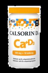 CALSORIN 500 MG + D3 10 MIKROG 100 TABL