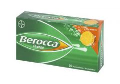 BEROCCA ORANGE poretabl 30 kpl